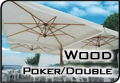 Зонт Wood Poker/Double